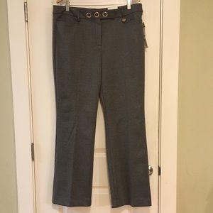 🔶 NWT Anne Klein Woven Black Bottom Trousers 14